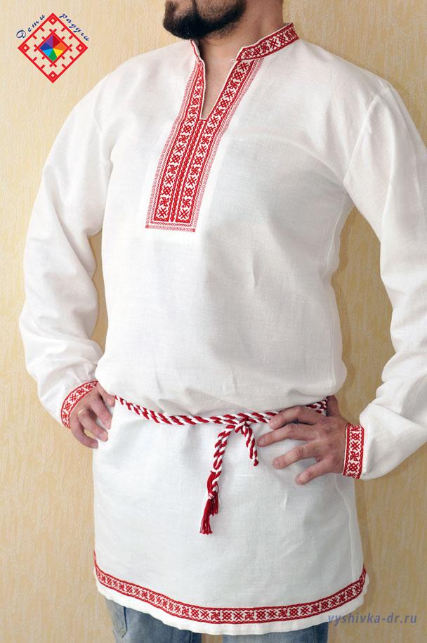 Вышивка для славянской рубахи 746